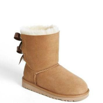 ONETOW UGG? 'Bailey Bow' Boot (Walker, Toddler, Little Kid & Big Kid) | Nordstrom