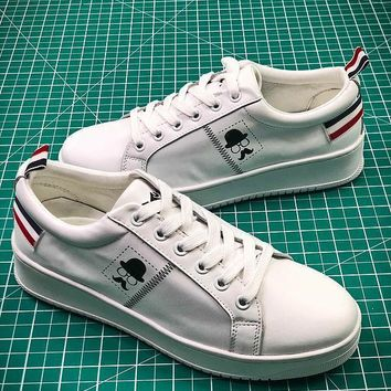 2018 Newest ASH White Leather Sneakers - Sale 6a80b3ae8af9