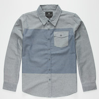 Shouthouse Frisco Boys Shirt Navy  In Sizes