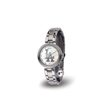 Los Angeles Dodgers MLB Charm Series Women's Watch