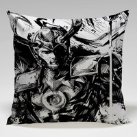 marvel superhero loki from asgard Square Pillow Case Custom Zippered Pillow Case one side and two side