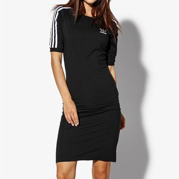 adidas Originals Three stripes Dress Black