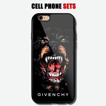 Givenchy Dog Logo Custom For iPhone Case Cover