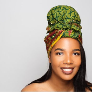 Green Best selling Headwrap