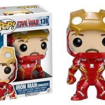 Funko Pop Marvel: Iron Man Unmasked Hot Topic Exclusive Vinyl Figure