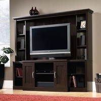 "Sauder Cinnamon Cherry Entertainment Center for TVs up to 47"" - Walmart.com"