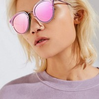 Cosmic Half-Frame Sunglasses | Urban Outfitters