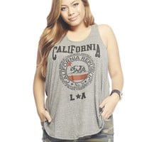 California Racerback Tank | Wet Seal+