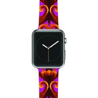 """Aimee St. Hill """"Intertwined Magenta"""" Apple Watch Strap"""
