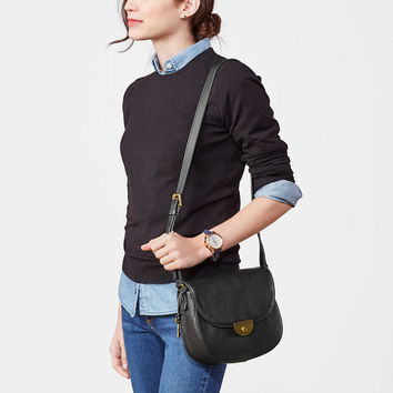 Emi Saddle Bag, Black