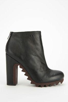 273bcd030 Circus By Sam Edelman Kensley Extreme Tread Leather Ankle Boot- Black