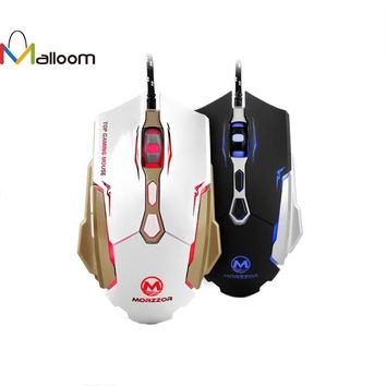 2400DPI 7D Buttons LED Rechargeable Wired Gaming Mouse