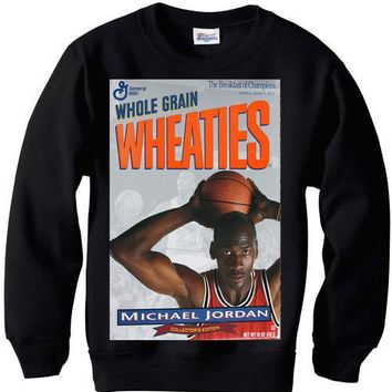 Michael Jordan Wheaties sweatshirt