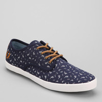 Fred Perry Foxx Leaf Print Sneaker