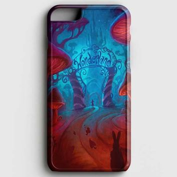 Alice In Wonderland Night iPhone 8 Plus Case