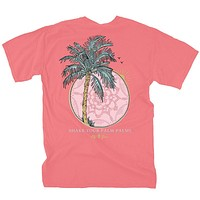 Palm Palms Tee by Lily Grace