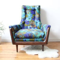 Adrian Pearsall Style Modern Lounge Chair