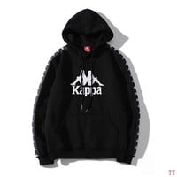 Kappa Woman Men Fashion Hoodie Top Sweater Pullover