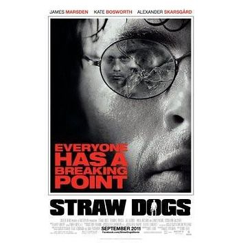 Straw Dogs Movie poster Metal Sign Wall Art 8in x 12in