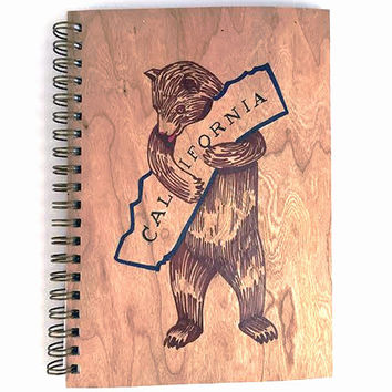 Cali Bear Notebook
