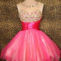 Fashion Cute Mini Prom Dress/Homecoming Dress