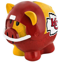 Kansas City Chiefs NFL Team Thematic Piggy Bank (Large)