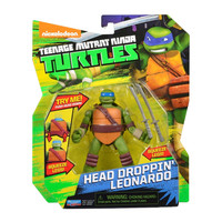 Head Droppin' Leonardo Teenage Mutant Ninja Turtles Action Figure