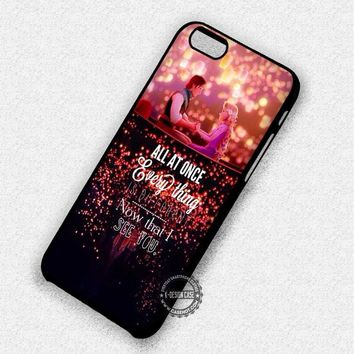 Tangled Quote Disney Rapunzel - iPhone 7 6 5 SE Cases & Covers