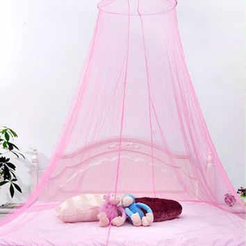 Baby Crib Mosquito Net Care Decoration White Insect Fly Baby Bed Crib Netting Curtain Dome Mosquito Baby Mosquito Crib Netting
