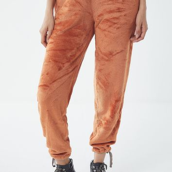 UO Angela Soft Fleece Jogger Pant | Urban Outfitters