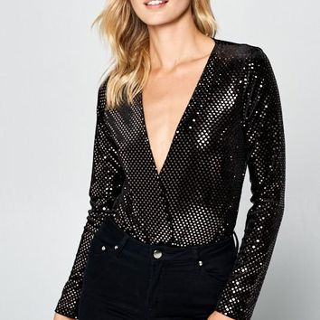 Disco Dime Bodysuit