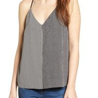 Socialite Mix Stripe Camisole | Nordstrom