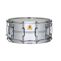 "Ludwig 50th Anniversary LM402 - 6.5"" x 14"" Supraphonic Snare Drum at Hello Music"