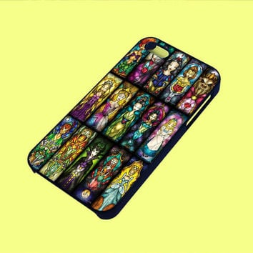 Disney Characters Stained Phone Case