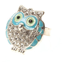 Sparkle Owl Wise Rings (MULTIPLE COLORS AVAILABLE)