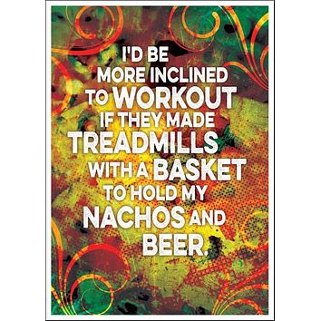 Nachos and Beer Card