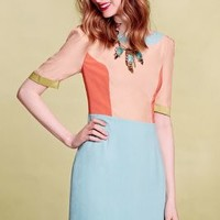 Primary Cut-Out Petite Dress by Harlyn Orange