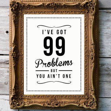 Retro Print '99' by RockTheCustardPrints