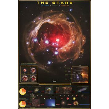 The Stars Education Poster 24x36