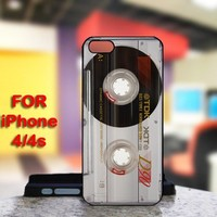 Audio Cassette For IPhone 4 or 4S Case / Cover