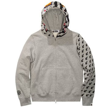 BAPE AMERICAN SHARK FULL ZIP HOODIE | Undefeated