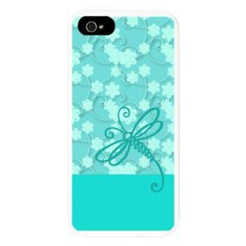Light Blue Dragonfly Art iPhone 5 Case> Cases & Covers > raineOn