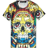 Colorful Skulls Tee