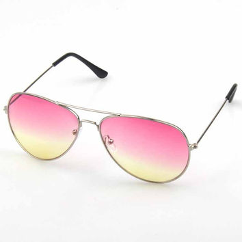 Mirror Ladies Stylish Strong Character Glasses Sunglasses [6592749827]