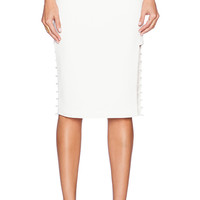 Cameo Airplane Skirt in Ivory