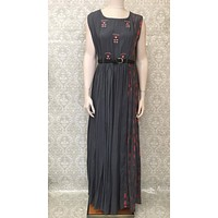 Long Rayon Maxi Dress/Gown