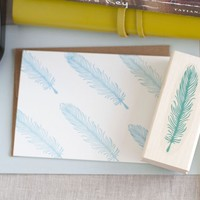 Feather Stamp | BRIKA - A Well-Crafted Life