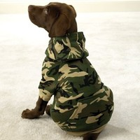 Fashionable, Warm Camo Fleece Hoodies