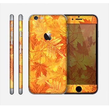 The Abstract Fall Leaves Skin for the Apple iPhone 6