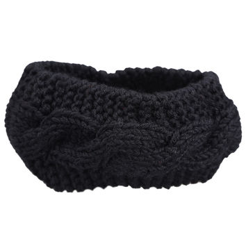 Fashion Knitted Ear Warmer Hairband Women Crochet Turban Headband  SN9